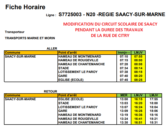 MODIF CIRCUIT SCOLAIRE SAACY