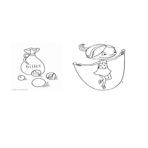image de Sac de billes et cordes à sauter
